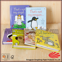Fashion Design Cheap Promotional English Story Book For Kids