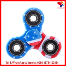 7 Colors camouflage Tri-Spinner Plastic EDC Hand Spinner For Autism and ADHD Fidget Spinner Long Time Anti Stress Toys
