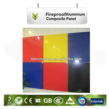 artificial wall Sign board ACP aluminum plastic panel advertising sheet