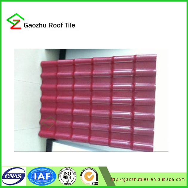 Architectural shingles cold room panel price ASA pvc roof tile