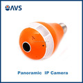 High Quality Small 360 Degree Fisheye Lens Orange Color Panoramic IPC Home Security Culb CCTV Camera