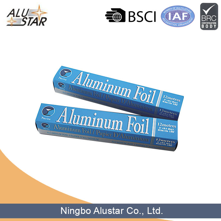 Food Disposable hot sale embossed aluminium foil