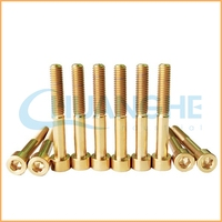 High precision hardware din 934 hexagon price for titanium bolts and nuts