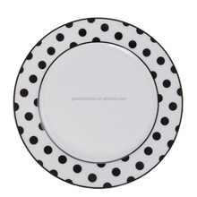 Hotel Restaurant dish set Custom Cheap white dinner plates for restaurant