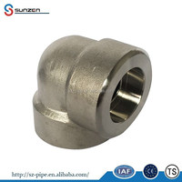 gas pipe fitting asme b16.11 astm a105 price list elbow