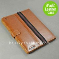Brand new and fashionable leather case for ipad 2