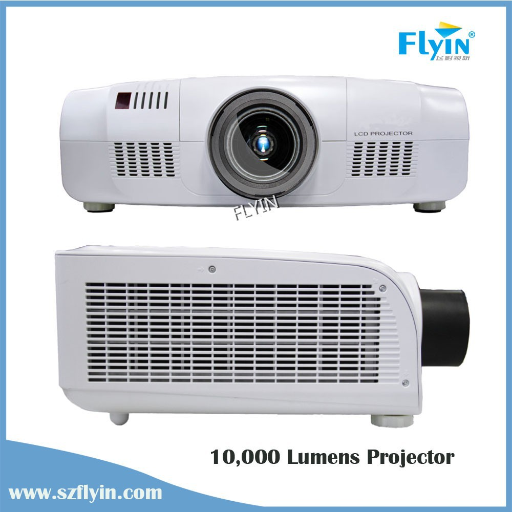Hologram Native WUXGA Resolution 3D Mapping High lumens Windows advertising Projector 10000 Lumens 3LCD Projector
