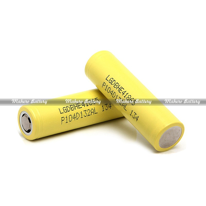 High Drain Li-ion IMR 18650 Cells Battery LG HE4 2500Mah 20A Max Discharge for Ecigarette Factory Price