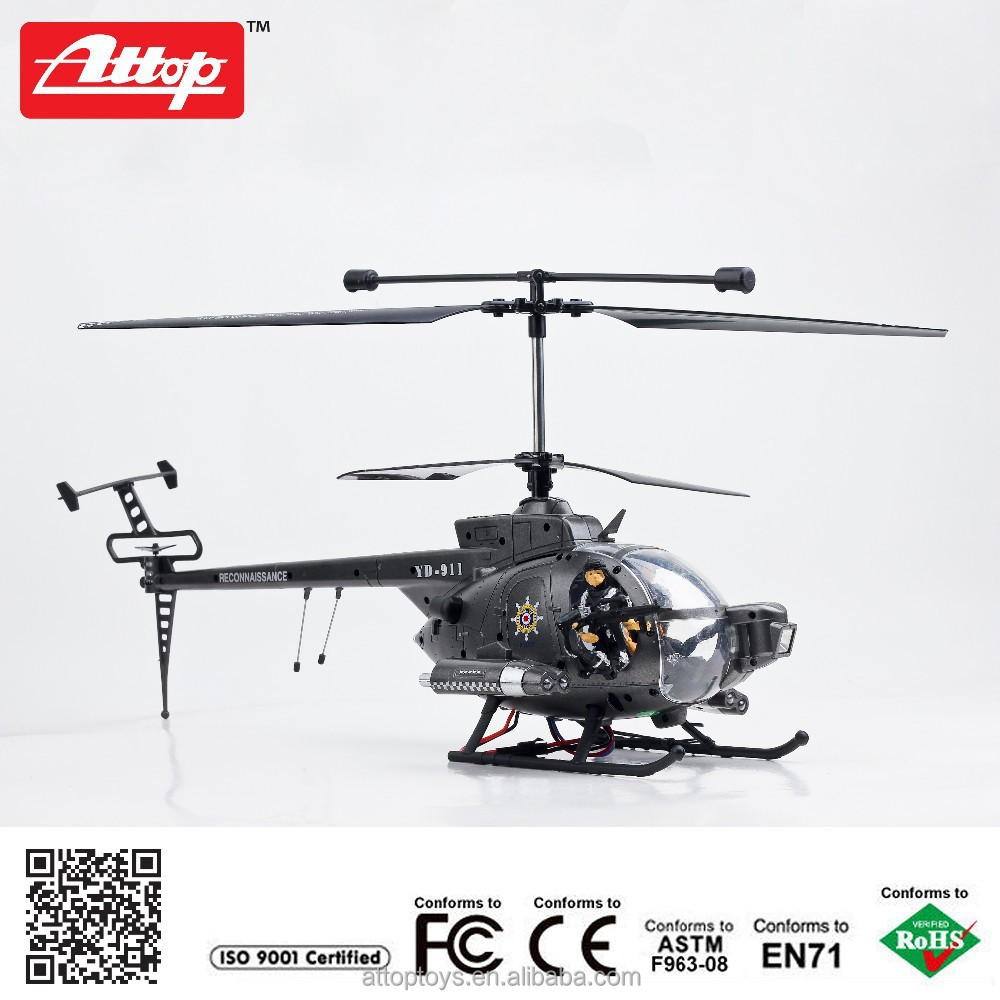 YD-119 2015 Hot sell 2.4G 3ch big apache rc helicopter