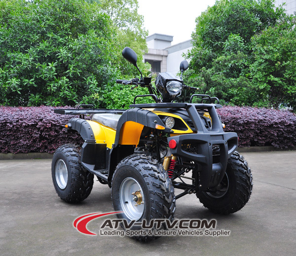 New sale trade assurance electric quad backhoe excavator atv 110cc shaft drive