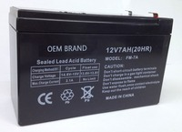 rechargeable 2 times long life span 12V Car sealed lead acid batteries