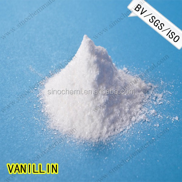 Natural Food Flavor 99.5% high quality vanillin polar bear brand