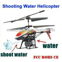 RC Water Shooting Helicopter with Gyro&Light V319