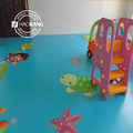 kindergarten nursery school preschool customized anti slip PVC flooring