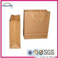 New Designed Fried Hot Chicken Biodegradable Aluminum Foil Kraft Paper Bag