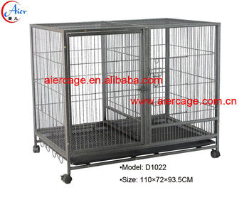 High quality best prices square tube modular dog cages and kennels