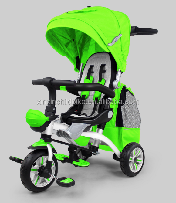 Aluminum alloy frame baby tricycle CE customized kids tricycle/child tricycle/ ride on toy car