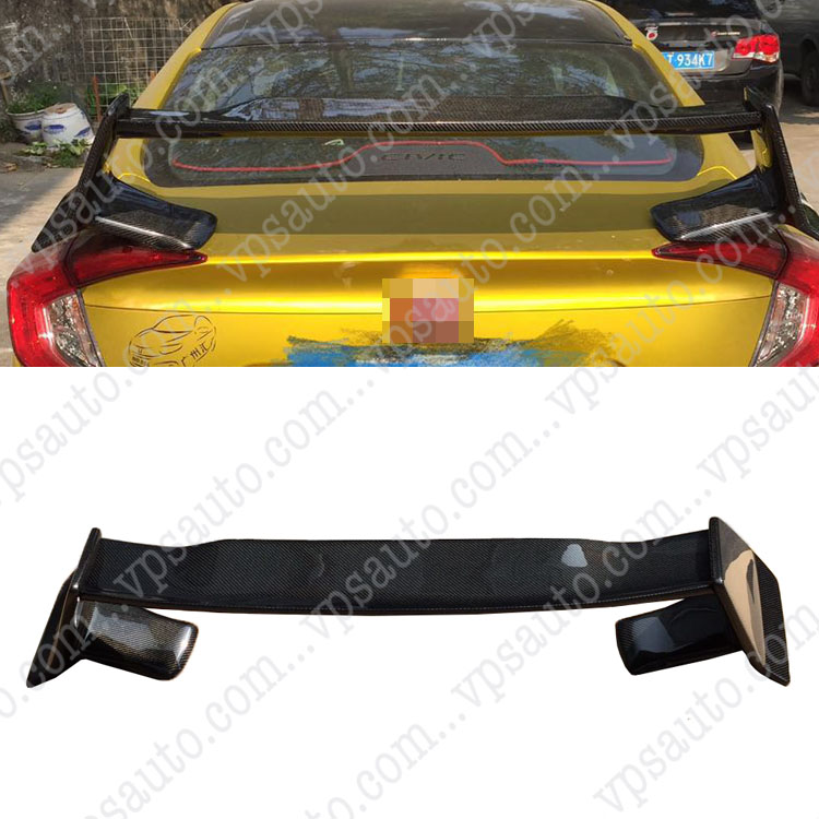 For Honda Civic Carbon Fiber TYPE-R Spoiler