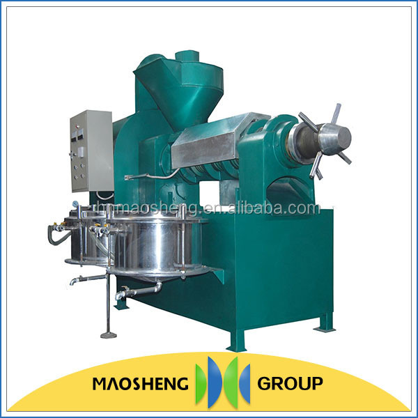 High efficiency machine for palm oil production
