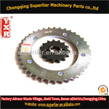 Professional produce lc135 sprocket & lc135,NX 400 FALCON 15T sprocket,420 and 428 cd 70 motorcycle parts