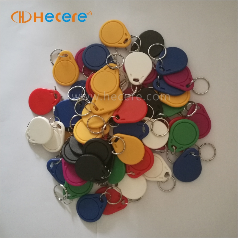 125Khz Waterproof RFID Product Plastic Token Key Fob