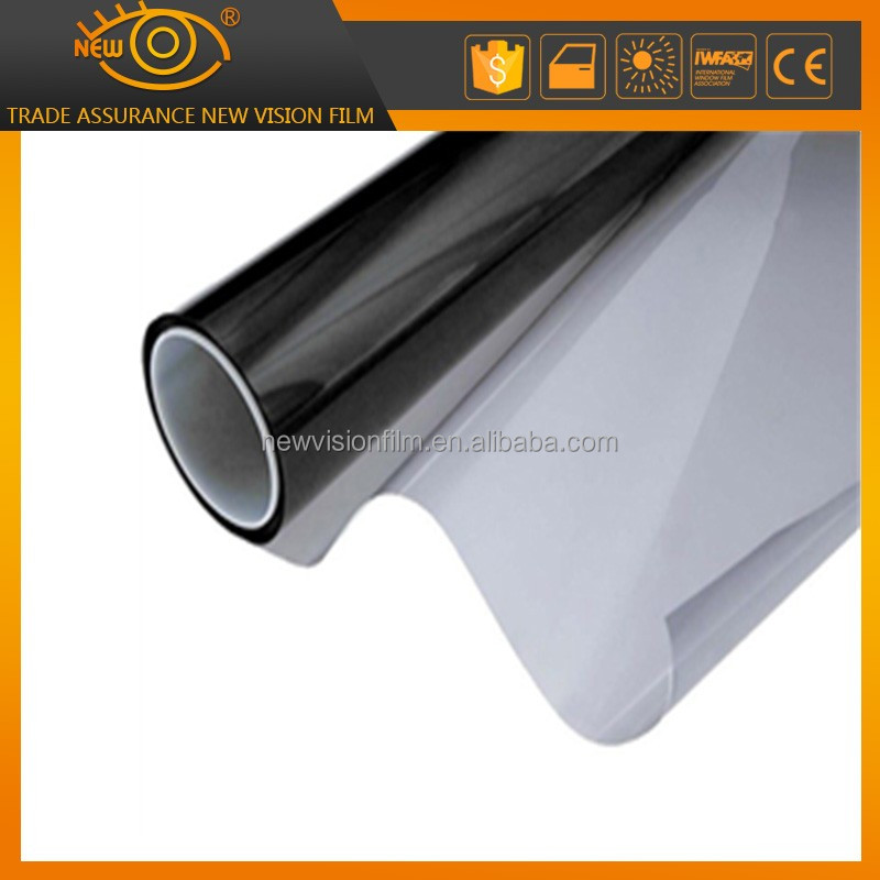 1 PLY 1 Mil Heat Insulation Vinyl Film Automobile Window Tinting on Mirror