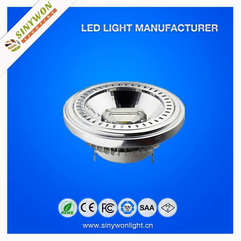 Hot Sale 2Years Warranty Dimmable G53 15w COB Led AR111