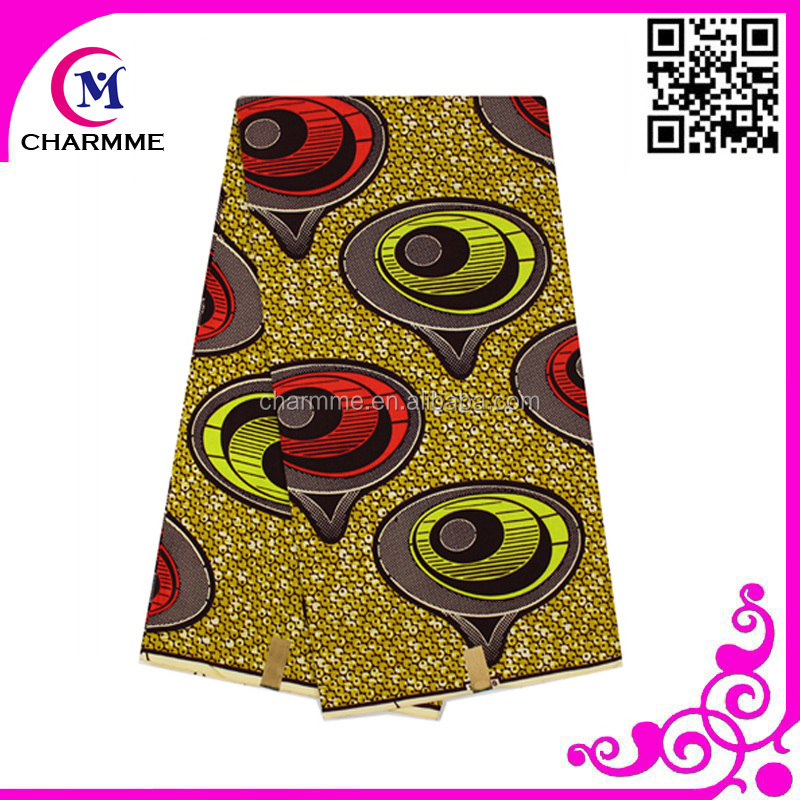 Factory price wax print African oftbright traditional veritable hitarget wax fabric