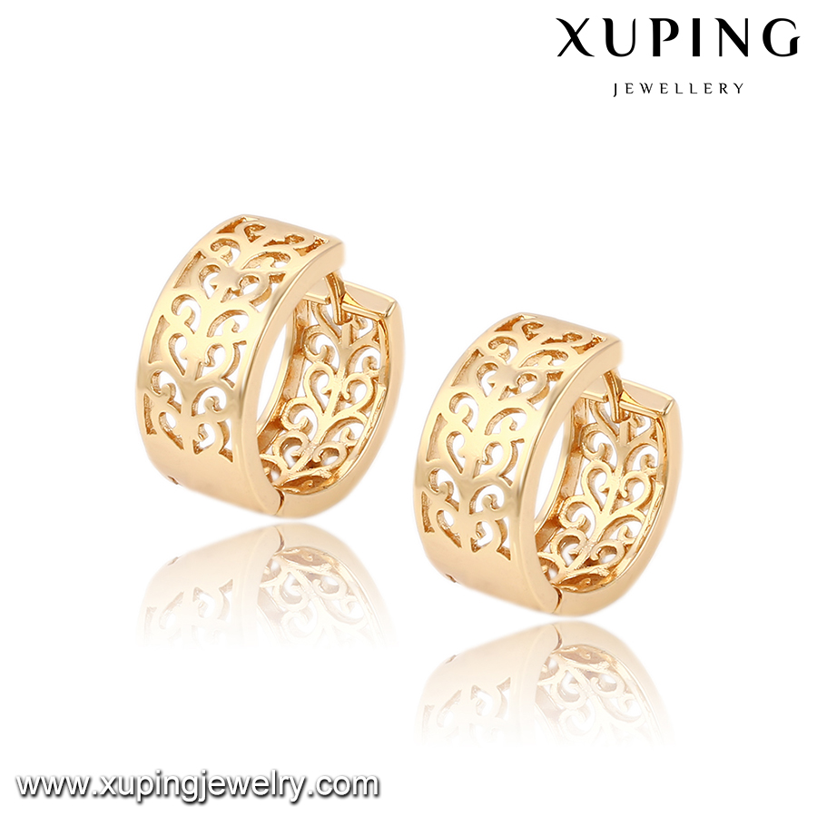 91531 Xuping fashion brass earrings bisuteria fashion jewelry