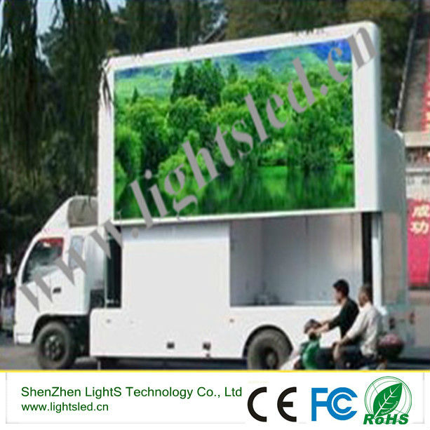 P6 truck mobile led display,ShenzhenP6 P8 p10 outdooor LED display
