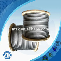 2016 New Product Electro Galvanized Steel Cable for bridge construction
