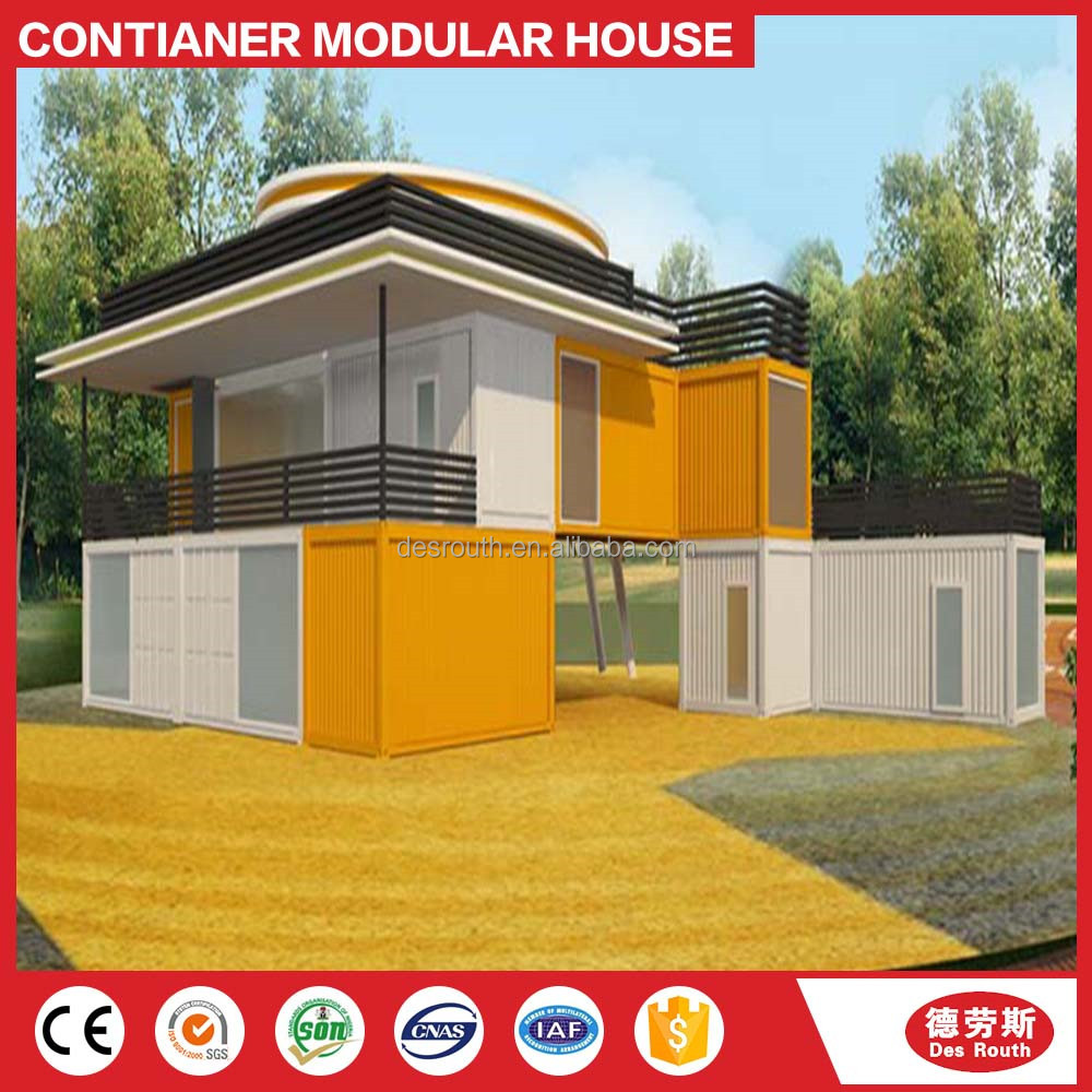 Modular Prefab luxury container house/Container Living Villa
