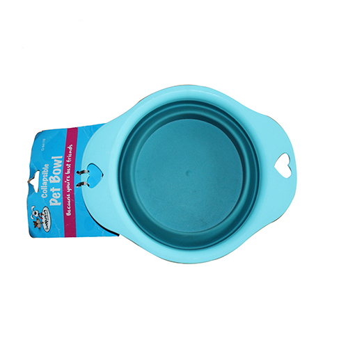Travel Dog Bowl Collapsible #1 BEST SELLER & BEST QUALITY by For Dog Premium - Premium Quality Pet Travel Bowl for Food & Water