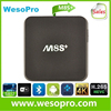 0524 WesoPro Google Android 5.1 Smart Tv Box M8s+ M8s Plus Amlogic S812 Quad Core M8s+ Android Tv Box In Stock