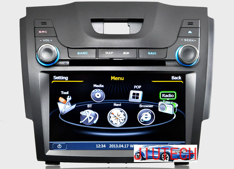 Car radio for Chevrolet Chevy Holden S10 Colorado dvd player for car stereo