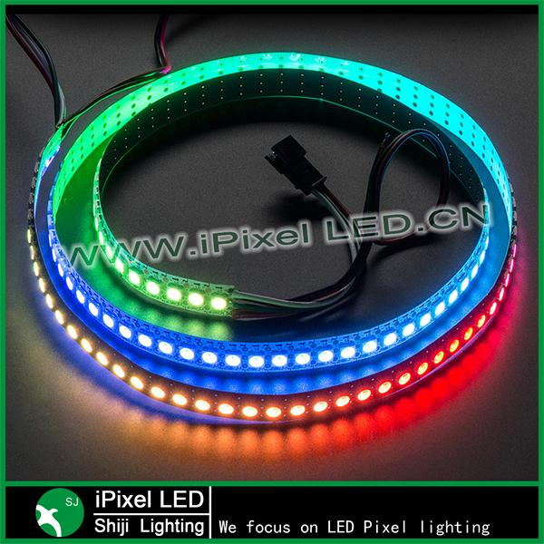 Digital programmable led strip rgb ws2812b DC 5V 12V SMD 5050 144 led pixel strip