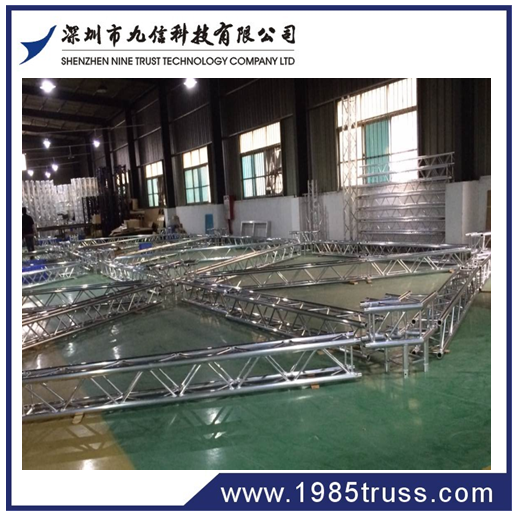 trade show exhibits stall aluminium truss booth contractor in shanghai by detian china