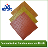 durable quality resin fiber tray paving mosaic form