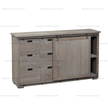 Vintage furniture ningbo furniture,vintage industrial restaurant cabinet
