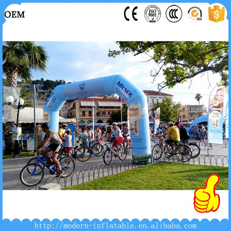 customized racing inflatable arch