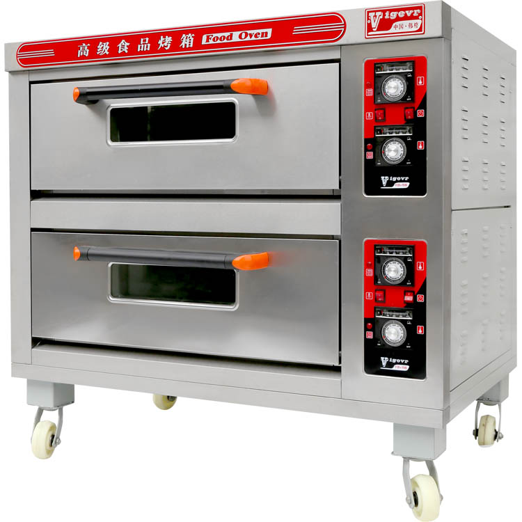 CE bakery oven deck type industrial bread steam oven