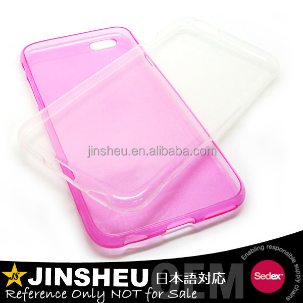 TPU material transparent personalized mobile phone cover