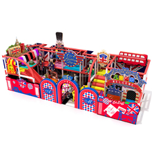 colorful kids playground Children Playground Equipment Set kids soft play area