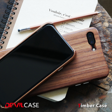 [DEVILCASE] High Quality 100% Walnut Wood Case for iPhone 7/7 Plus