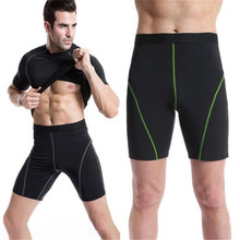 Wholesale Sport Fitness Running Compression Clothing Mens Compression Shorts