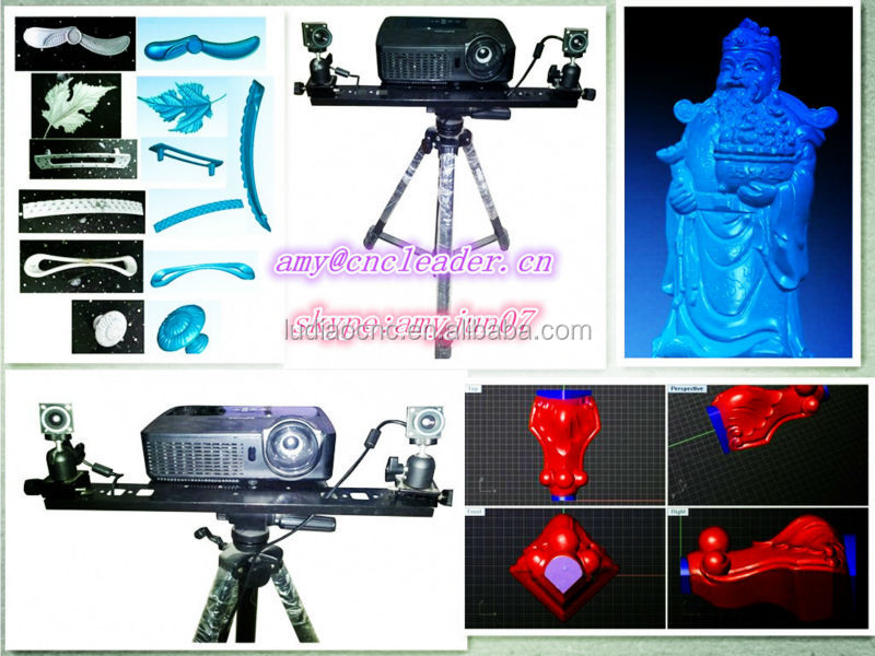 Dealer wanted /Best sell Professional CNC router 3D scanner/3D scanner software for the CNC machine woodworking industry