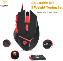 Wired Custom OEM Optical Game Drivers USB 7d Mice Gaming Mouse