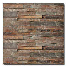 natural slate brown color stacked slate