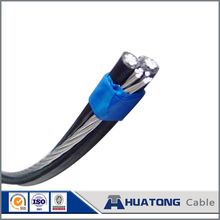 Home solar systems low voltage ACSR conductor xlpe triplex service drop abc cable Janthina for overhead use