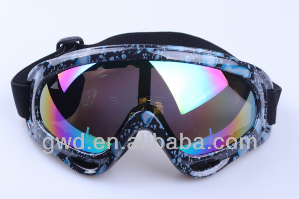 fashion racing goggles for motorcycle rider/Motorcycle accessories in sports